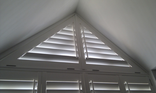 triangle shutters