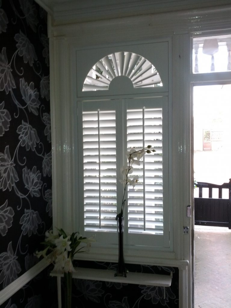 shaped shutters from Shuttertec