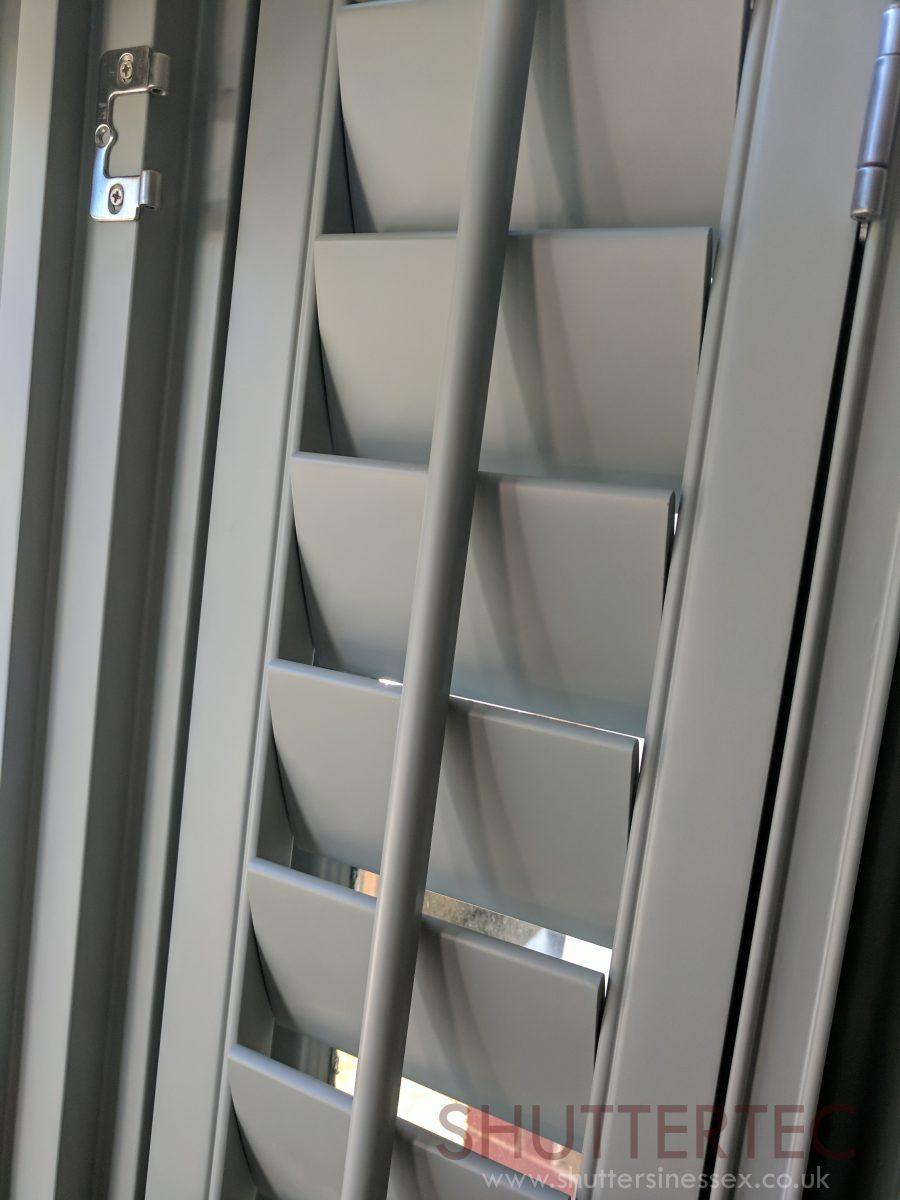 custom coloured shutters