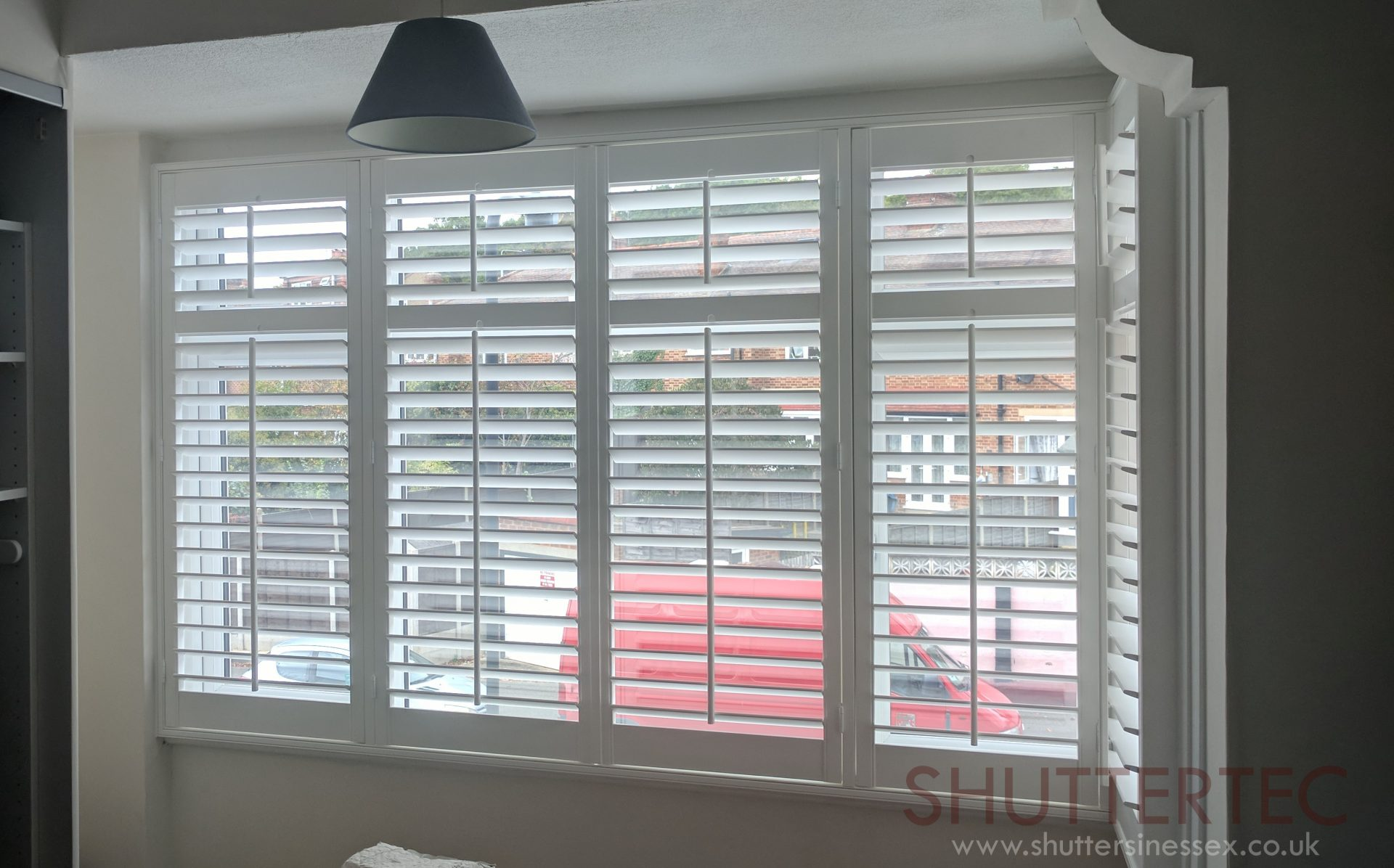 shutters with rod