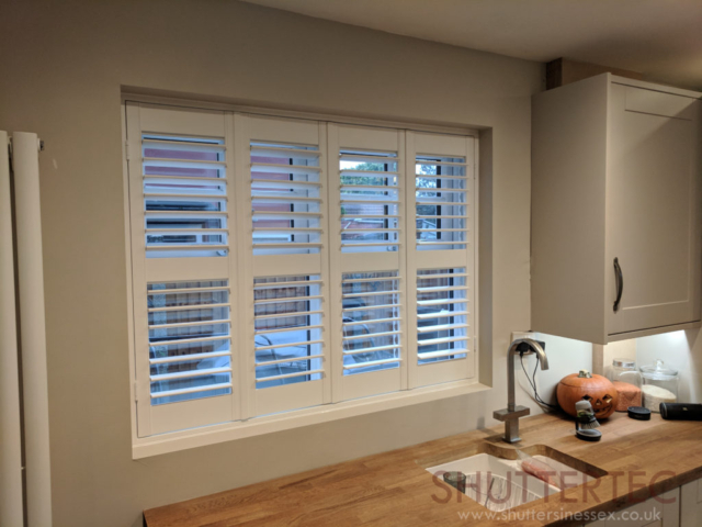 shutters with rail