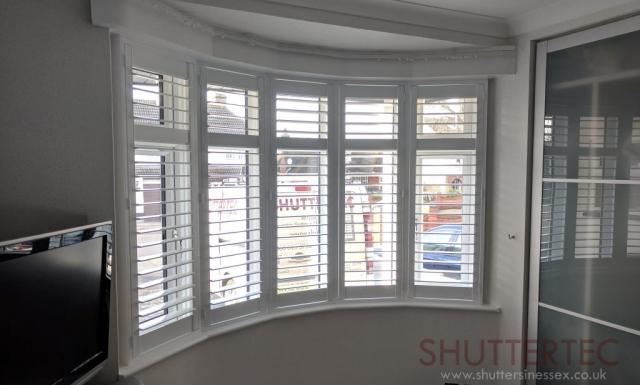 shutters bay window