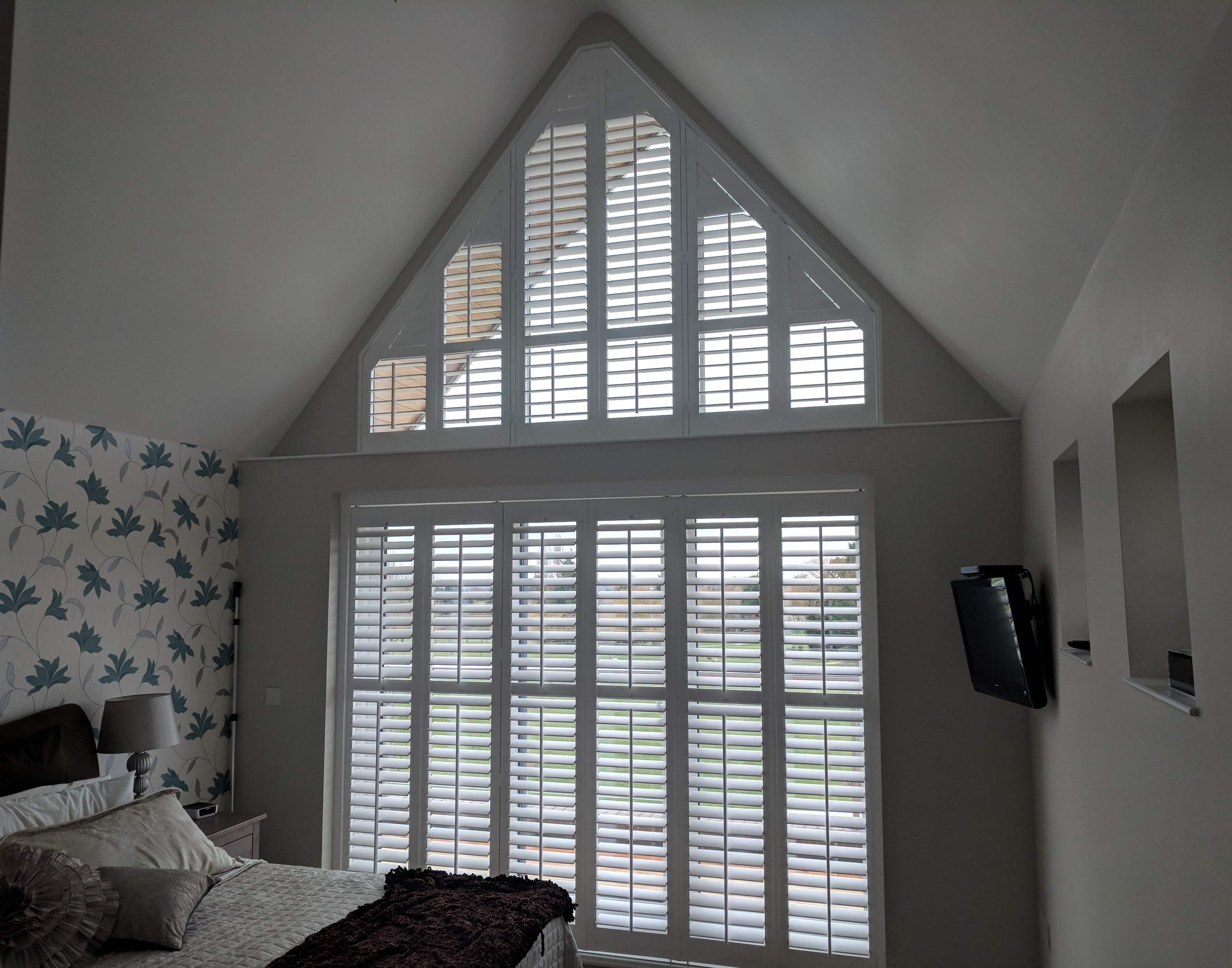 bespoke shutters by Shuttertec