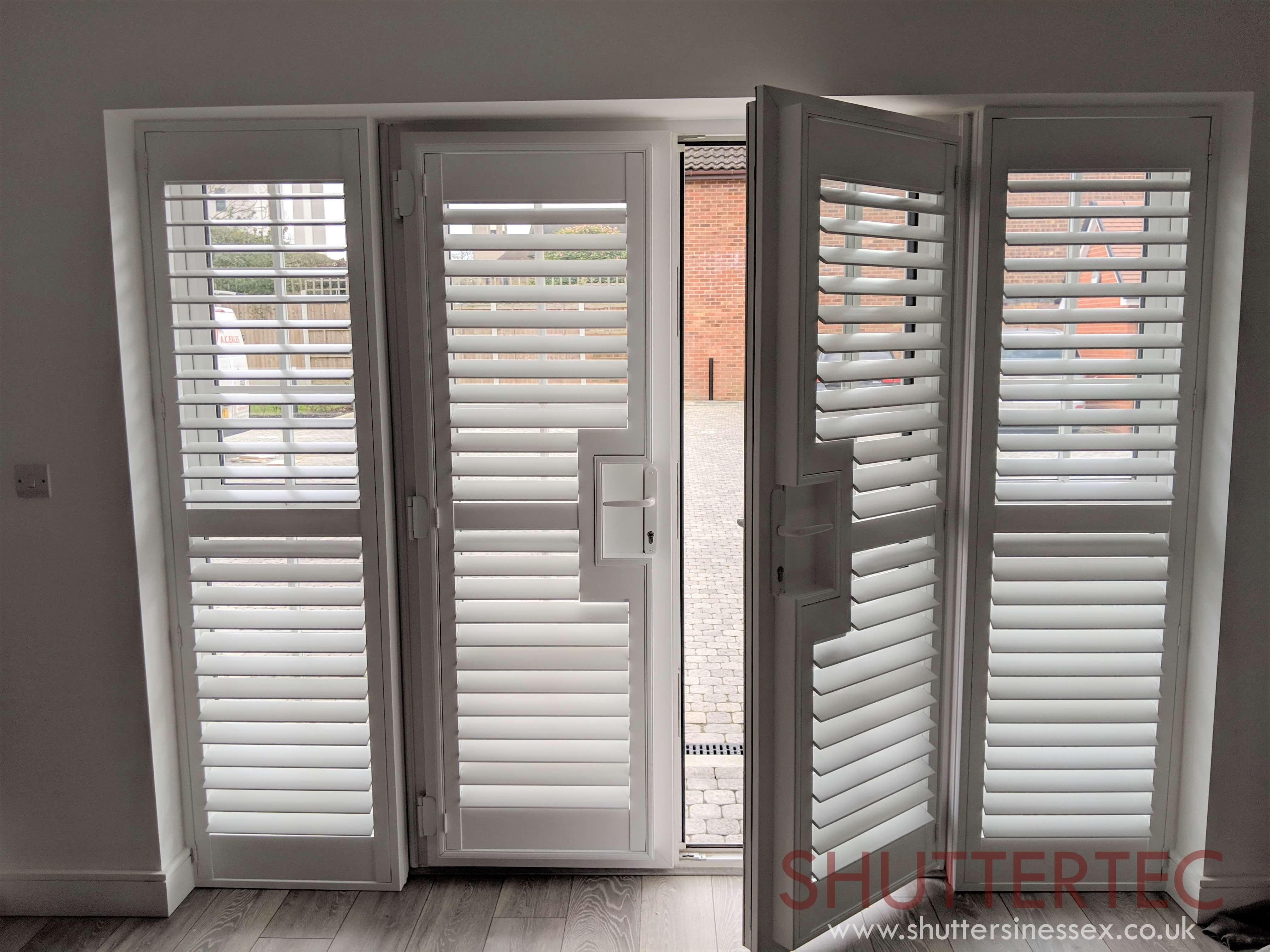 french door shutters