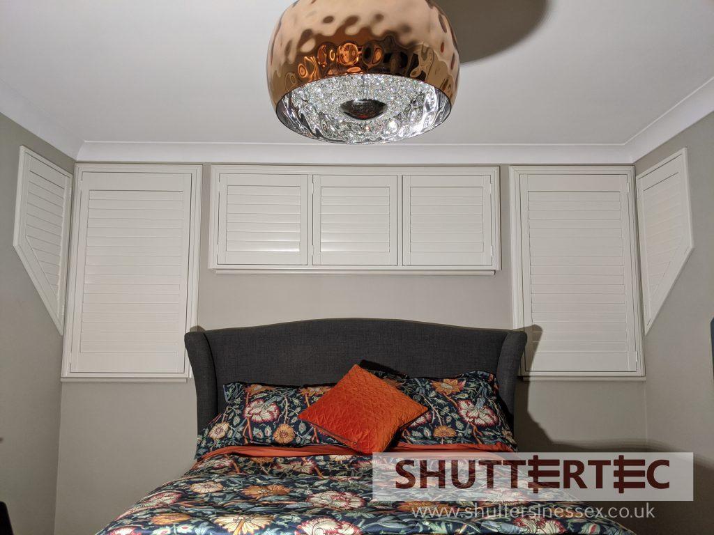 Bedroom shutters shuttertec