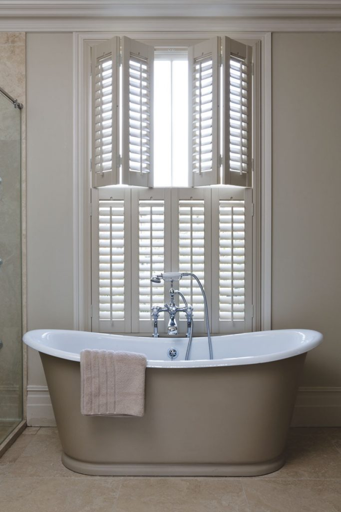 Image of cafe shutters for Shutter Tec, window shutter suppliers in Essex