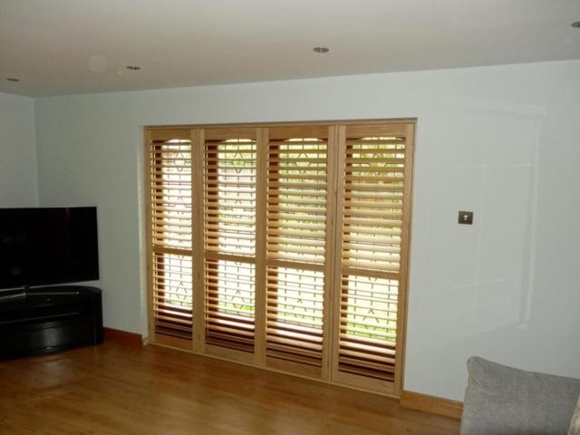 oak shutter