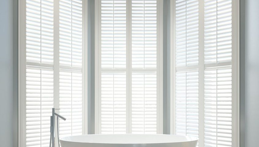Title graphic for Shuttertec blog about choosing correct slat size for shutters