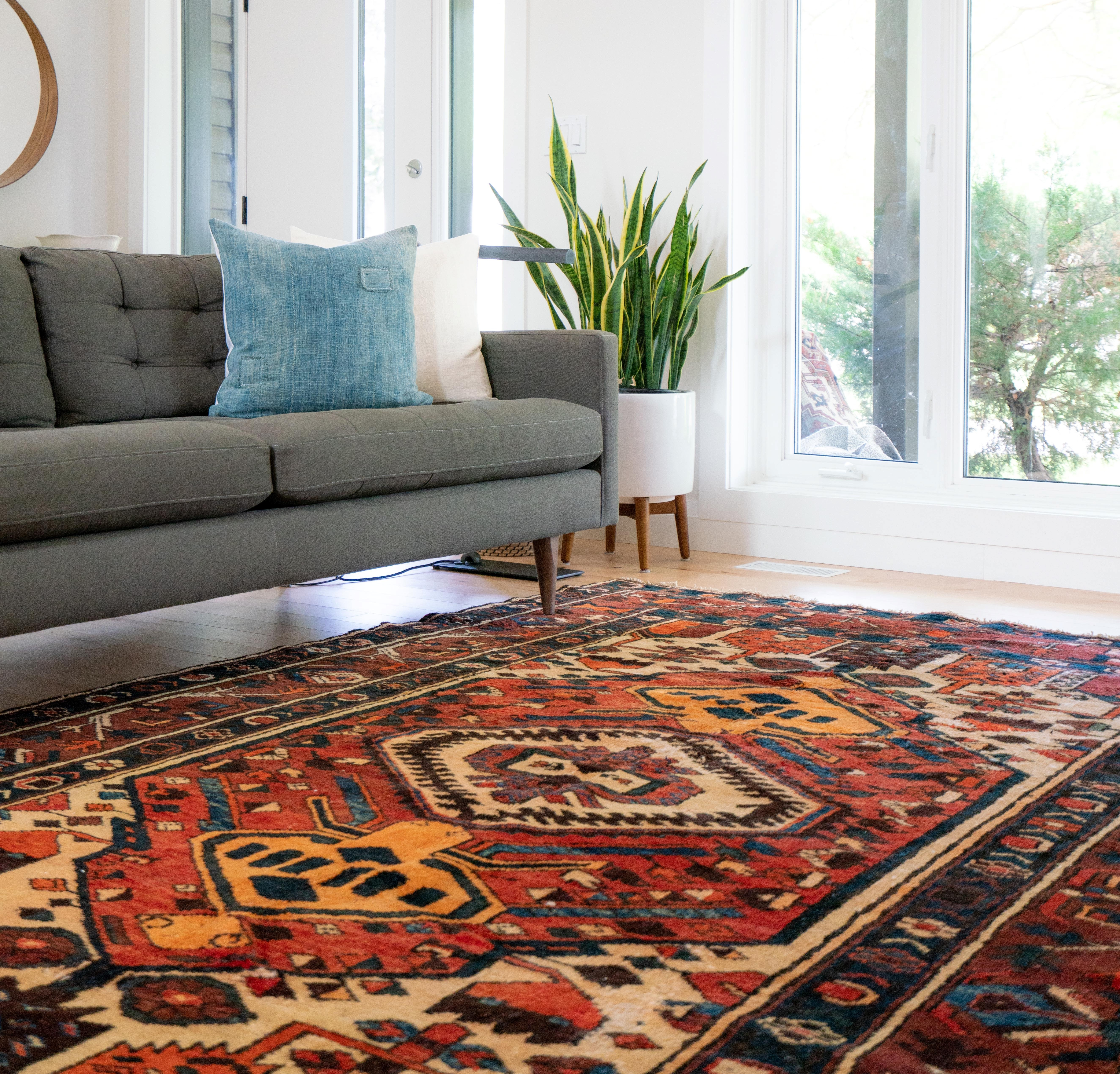 area rugs can help when insulating your home