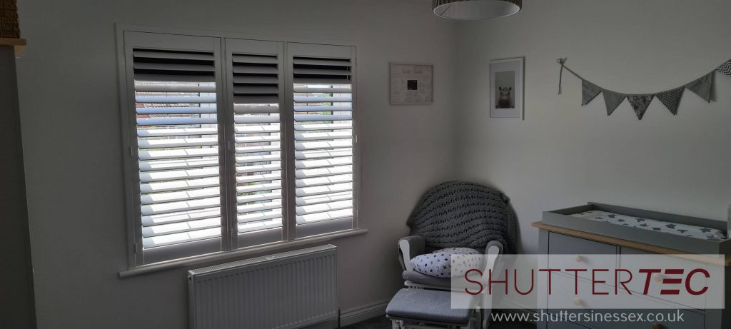 blackout shutters are ideal for children's rooms
