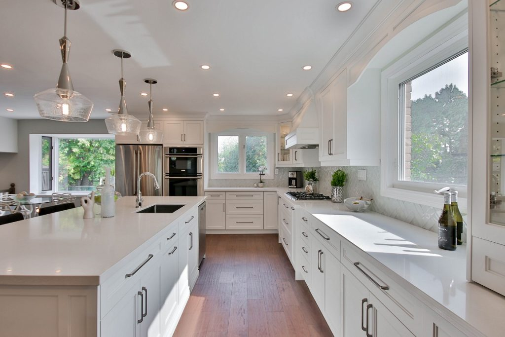 cafe style shutters are ideal for kitchens